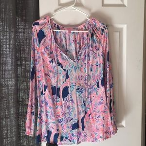 Lilly Pulitzer Willa Tunic Top